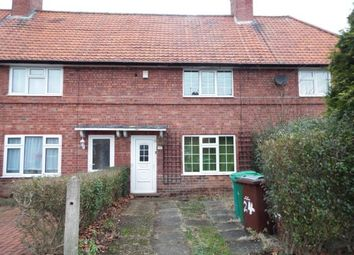 Thumbnail 2 bed terraced house for sale in Wensor Avenue, Beeston, Nottingham