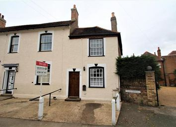 Thumbnail 2 bed end terrace house to rent in High Street, Stanwell, Staines