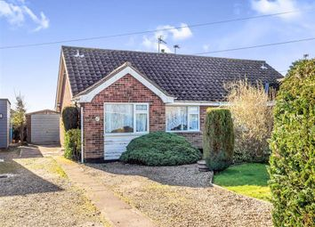 Thumbnail 2 bedroom semi-detached bungalow for sale in Copeman Road, Aylsham, Norwich