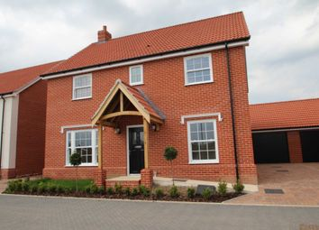 Thumbnail 4 bed detached house for sale in Springfield, Acle, Norwich