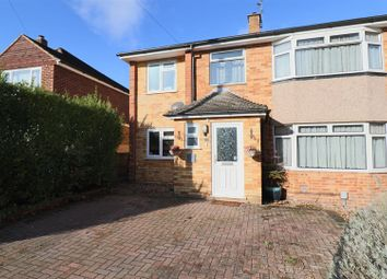 Thumbnail 4 bed semi-detached house for sale in Blunden Road, Farnborough