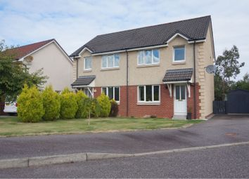 Thumbnail 3 bed semi-detached house for sale in Castlehill Park, Inverness