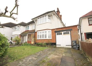 Thumbnail 4 bed semi-detached house for sale in Leigham Avenue, Streatham