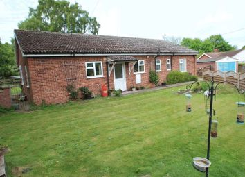 Thumbnail 3 bed detached bungalow for sale in Walnut Hill, Surlingham, Norwich