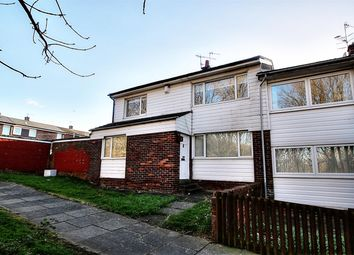 Thumbnail 3 bed semi-detached house to rent in Croxdale Gardens, Gateshead