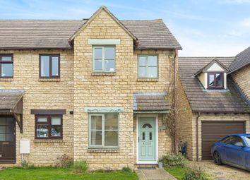 Thumbnail 2 bed end terrace house for sale in Aston, Oxfordshire