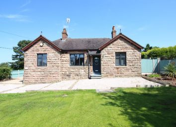 Thumbnail 4 bed detached bungalow for sale in Park Lane, Knypersley, Staffordshire