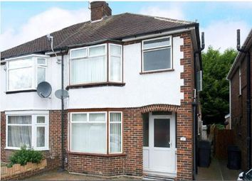 Thumbnail 3 bed semi-detached house to rent in Filmer Road, Luton