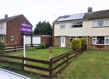 Thumbnail 3 bed semi-detached house for sale in Mayflower Close, Immingham