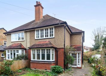 Thumbnail 3 bed semi-detached house for sale in Common Road, Claygate, Esher, Surrey