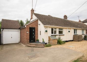 Thumbnail 3 bed semi-detached bungalow for sale in Sages End Road, Helions Bumpstead, Haverhill