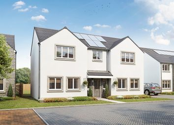 "Thumbnail 5 bedroom detached house for sale in ""Bowmore"" at Burdiehouse Road, Edinburgh"