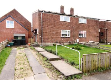 Thumbnail 2 bed semi-detached house for sale in Quarry Crescent, Bearpark, Durham
