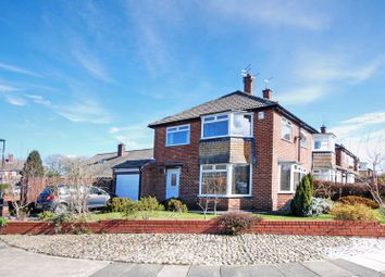 Thumbnail 3 bed semi-detached house for sale in Thropton Crescent, Gosforth, Newcastle Upon Tyne