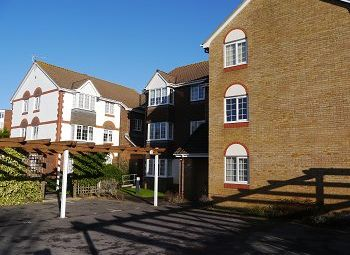 Thumbnail 1 bed flat to rent in Wentworth Drive, Christchurch, Dorset