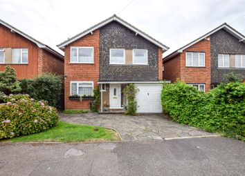 Thumbnail 4 bed detached house for sale in Ashlyn Close, Bushey, Hertfordshire