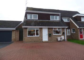 Thumbnail 4 bed semi-detached house for sale in Westcott Way, Abington Vale, Northampton, Northamptonshire