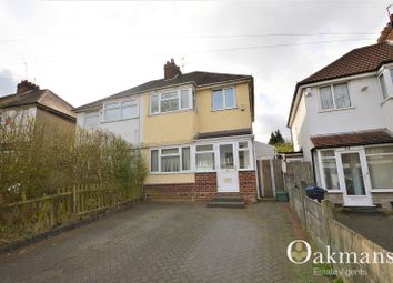 Thumbnail 3 bedroom semi-detached house to rent in Strathdene Road, Birmingham, West Midlands.