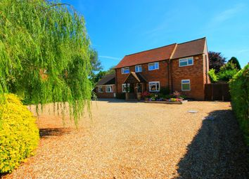 Thumbnail 5 bed detached house for sale in Mytchett Road, Mytchett, Camberley