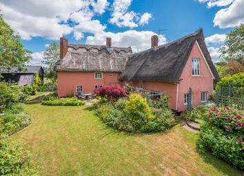 Thumbnail 6 bed farmhouse for sale in Bradfield St George, Bury St Edmunds, Suffolk