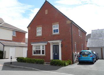 Thumbnail 4 bed detached house to rent in Longacre, Bridgend
