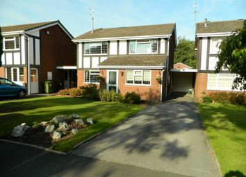 Thumbnail 4 bed detached house for sale in Woodcote Road, Tettenhall, Wolverhampton