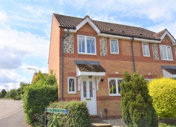 Thumbnail 2 bed semi-detached house for sale in Horseshoe End, Newbury