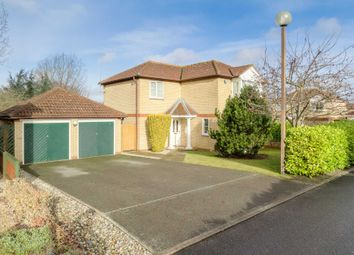 Thumbnail 4 bed detached house for sale in Chievely Court, Emerson Valley, Milton Keynes