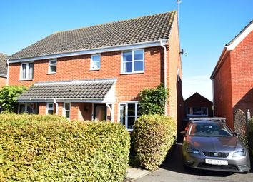 Thumbnail 3 bed semi-detached house for sale in Thompson Close, Grundisburgh, Woodbridge