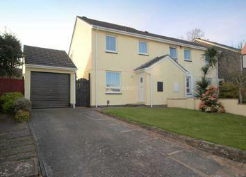 Thumbnail 3 bed semi-detached house for sale in Fairmead Mews, Lower Burraton, Saltash