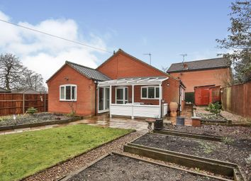 Thumbnail 3 bed detached bungalow for sale in Barons Close, Fakenham