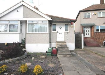 Thumbnail 2 bed semi-detached bungalow to rent in Rushdene, London