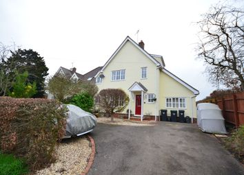 Thumbnail 5 bed semi-detached house for sale in Red Lion Cottages, Great Sampford, Saffron Walden