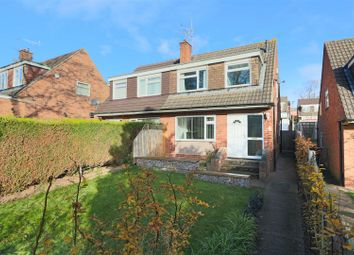 Thumbnail 3 bed semi-detached house for sale in Trueman Gardens, Arnold, Nottingham