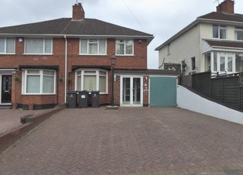 Thumbnail 3 bed semi-detached house for sale in Dads Lane, Kings Heath, Birmingham