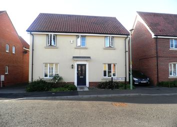 Thumbnail 4 bedroom detached house to rent in Bramble Walk, Beck Row, Bury St. Edmunds