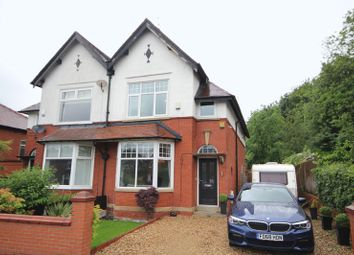 Thumbnail 4 bedroom semi-detached house for sale in Bury Road, Bamford, Rochdale