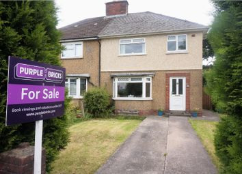 Thumbnail 3 bedroom semi-detached house for sale in Ton-Yr-Ywen Avenue, Cardiff