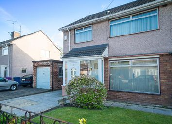 Thumbnail 3 bedroom semi-detached house for sale in Westbrook Road, Liverpool