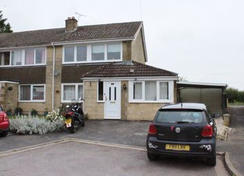 Thumbnail 3 bed semi-detached house for sale in Aldsworth Close, Fairford