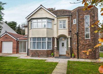 Thumbnail 4 bed detached house for sale in New Lane, Penwortham, Preston
