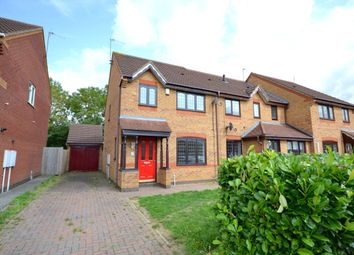 Thumbnail 3 bed semi-detached house to rent in Sandhurst Close, Northampton