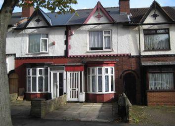 Thumbnail 2 bed terraced house for sale in Churchill Road, Bordesley Green, Birmingham