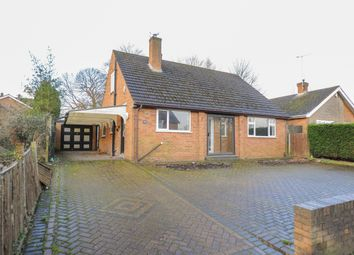 Thumbnail 3 bed detached bungalow for sale in Newbold Road, Chesterfield