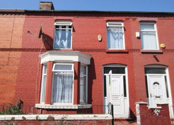Thumbnail 3 bed terraced house for sale in Cranborne Road, Wavertree, Liverpool
