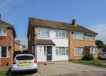 Thumbnail 4 bed semi-detached house for sale in Northend, Warley, Brentwood