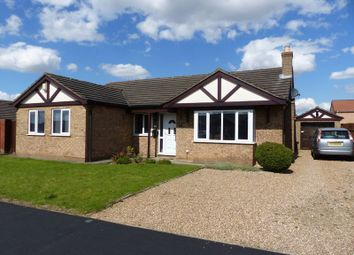 Thumbnail 4 bed detached bungalow for sale in Wolsey Way, Lincoln