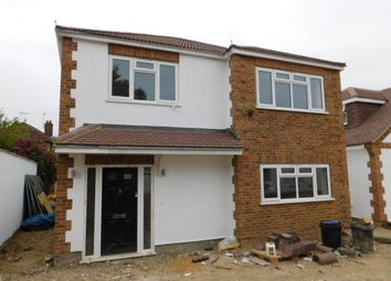 Thumbnail 4 bed detached house for sale in Bushey Road, Ickenham