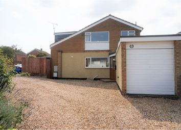 Thumbnail 5 bed detached house for sale in Coverside Road, Great Glen