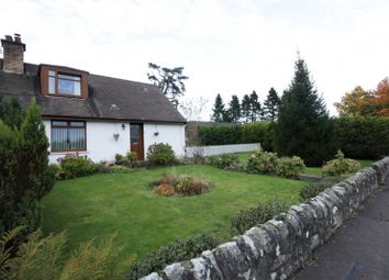 Thumbnail 3 bed semi-detached house for sale in Gartwhinzean Feus, Dollar, Perth And Kinross
